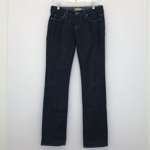 Paige Blue Heights Boot Cut Medium Wash Jeans [CW]